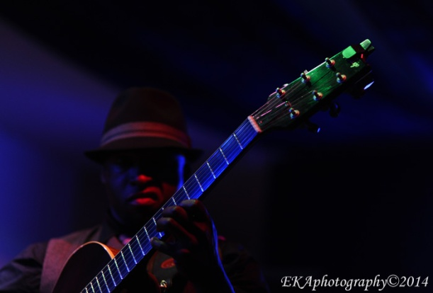 Jazz guitarist Terrence Brewer at Birdland
