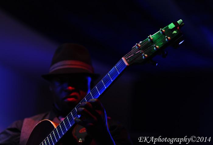 Jazz guitarist Terrence Brewer at Birdland