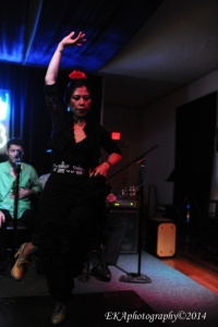 Melissa Cruz at Birdland's Oakland Flamenco Sessions