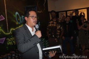 Author Jeff Chang at SoleSpace Gallery