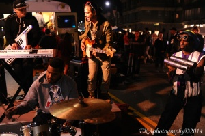 First Fridays jam session with Kev Choice, Hassan Hurd, Uriah Duffy, and King Theo Sambafunkquarian