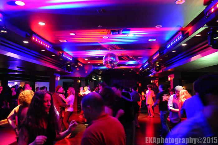 Berkeley Underground's ubiquitous disco ball