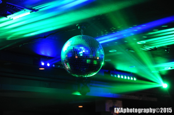 The disco ball.