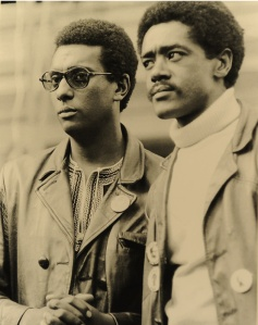 Stokely Carmichael and Bobby Seale, 1968. Photo by Henry Raulston