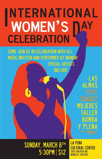 International Women's Day Celebration at La Pena