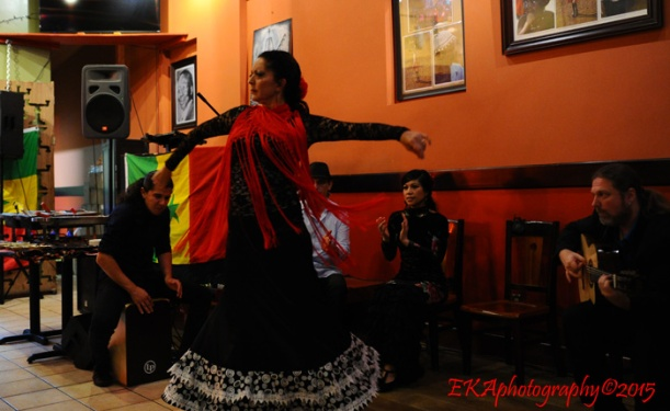 Yaelisa enters the flamenco zone