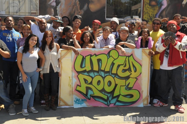 The Jacka (far right) at Oakland's United Roots in 2011