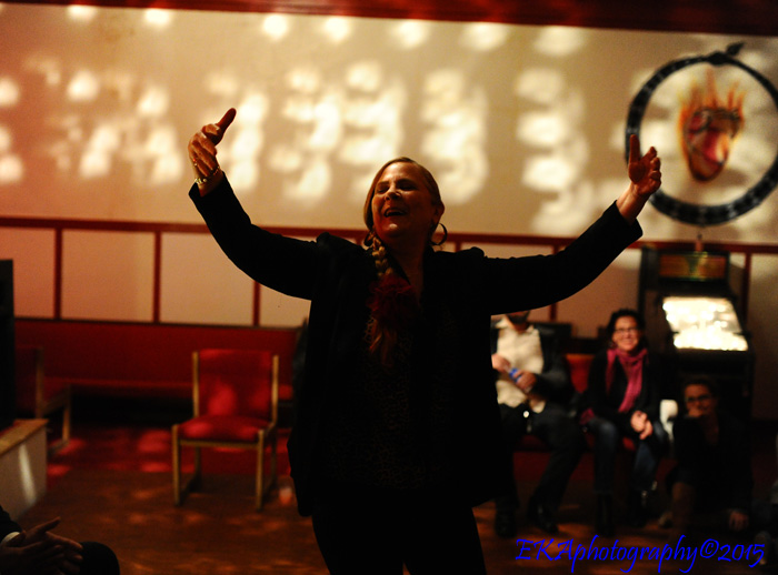 Nina Menendez at Oakland Flamenco sessions