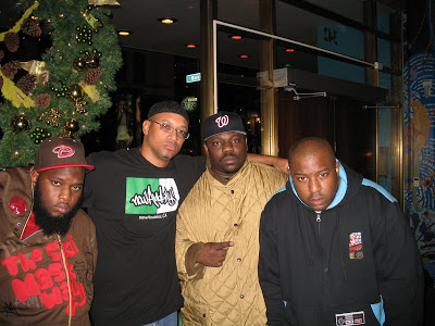 Freeway, Adisa Banjoko, Beanie Siegel, and The Jacka in 2007