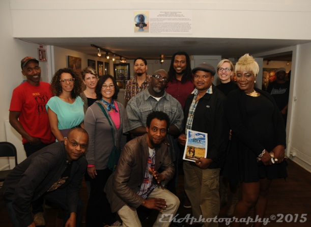 OIFF Filmmakers at the Joyce Gordon Gallery