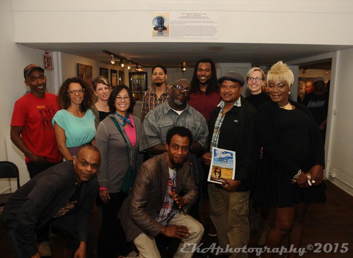 OIFF Filmmakers at the Joyce Gordon Gallery