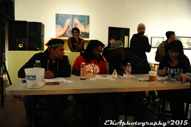 The judges panel