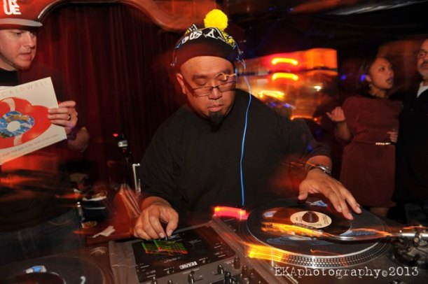 DJ Rhettmatic, one of many DJ legends to bless the decks