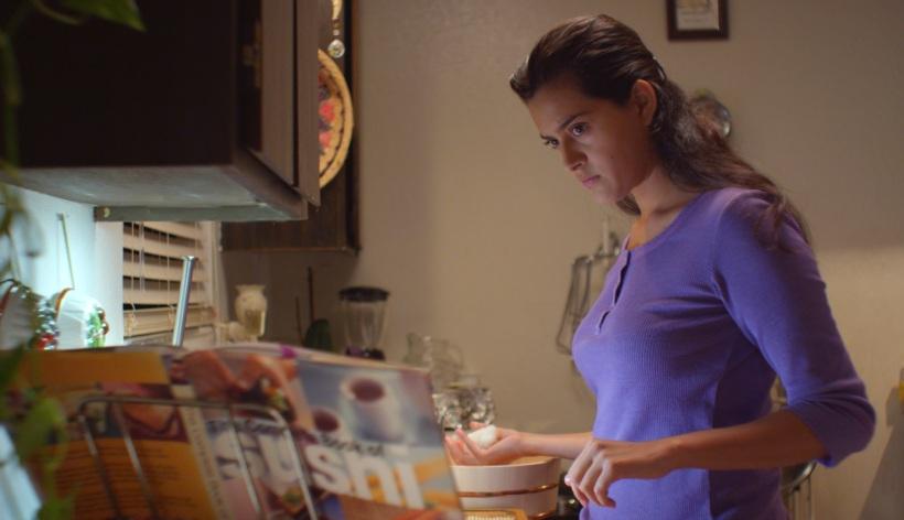 Diana Elizabeth Torres plays aspiring sushi chef Juana