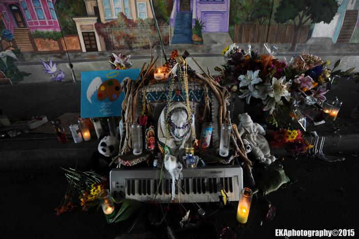 Altar for Antonio Ramos