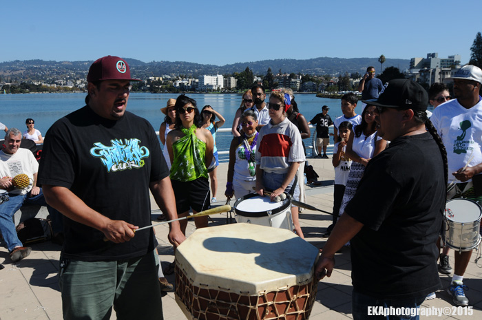 Indigenous noise: Manny Lieras and George Galvis