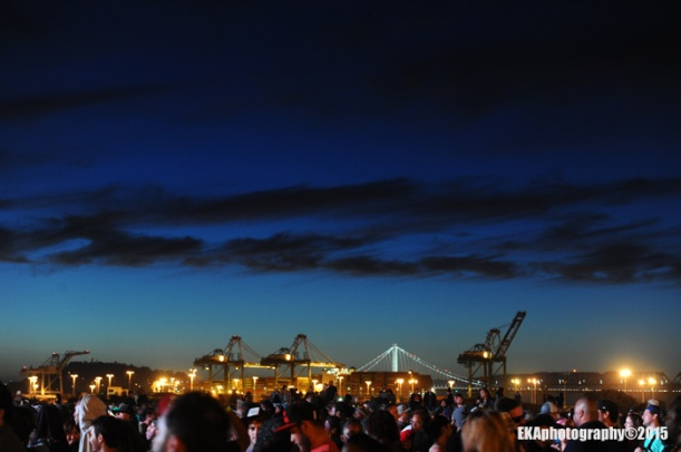 Picturesque views added much to the festival's user experience